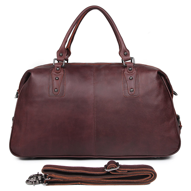 7071LC 2015 New Men Bags Multifunction Genuine Leather Travel Man Outdoor Tote Bag For Business