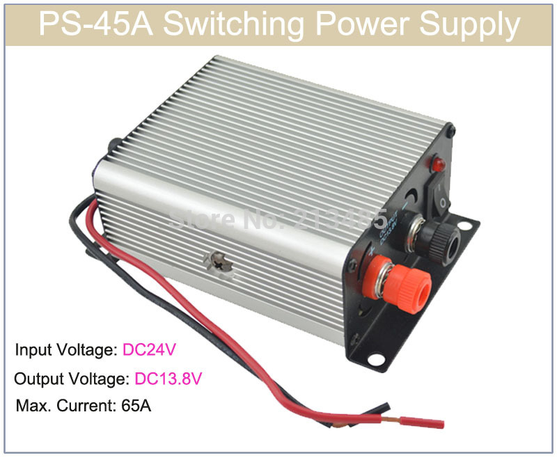 PS-45A  Switching Power Supply Input Voltage:24V  Switch To Output Voltage:13.8V