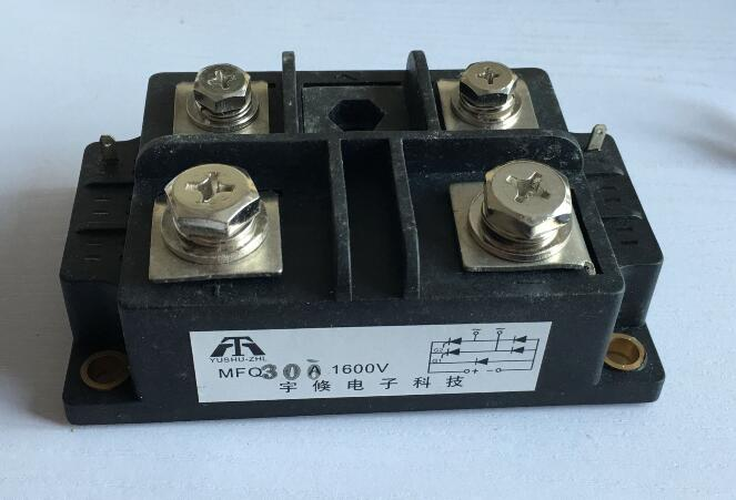 Single phase Silicon Controlled Module Diode Bridge Rectifier MFQ300A 1600V 68*110*40mm msg60u43 silicon controlled 60a 1600v