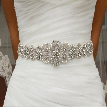 Flower Style Wedding Belt