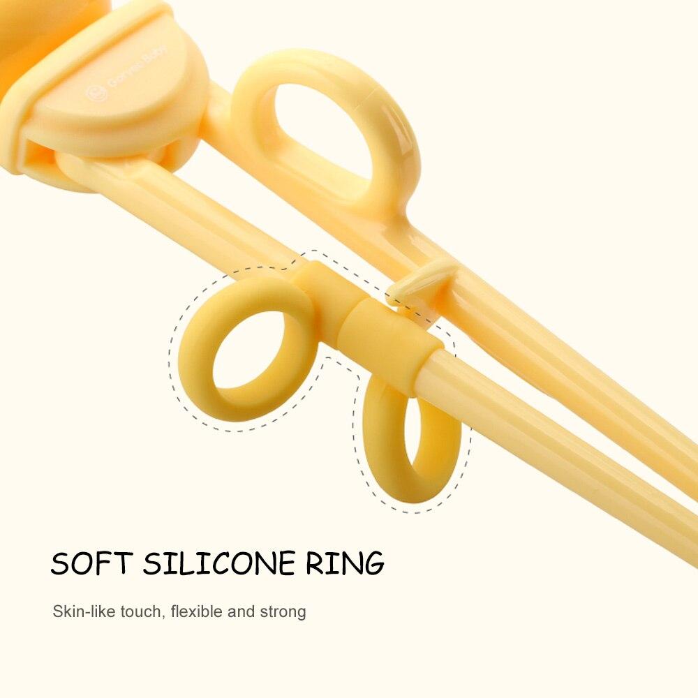 Учебные палочки для еды прикрепляемые тренировочные палочки для еды ABS смола браслет из силиконовой нержавеющей стали анти-распад