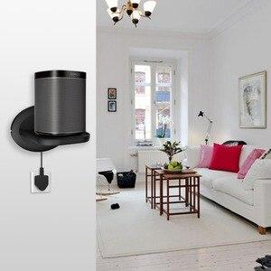 Image 5 - Montaggio a parete per Sonos Google Casa Google WiFi Telecamere di Sicurezza Supporto Bulit in di Gestione Dei Cavi Spazio Risparmio Energetico soluzione 2Pack