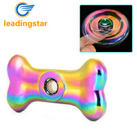 LeadingStar Adults and Kids Fidget Hand Spinner Toy Stress Anxiety ADHD Relief Fingertip High Speed Dog Bone Shape For Autism