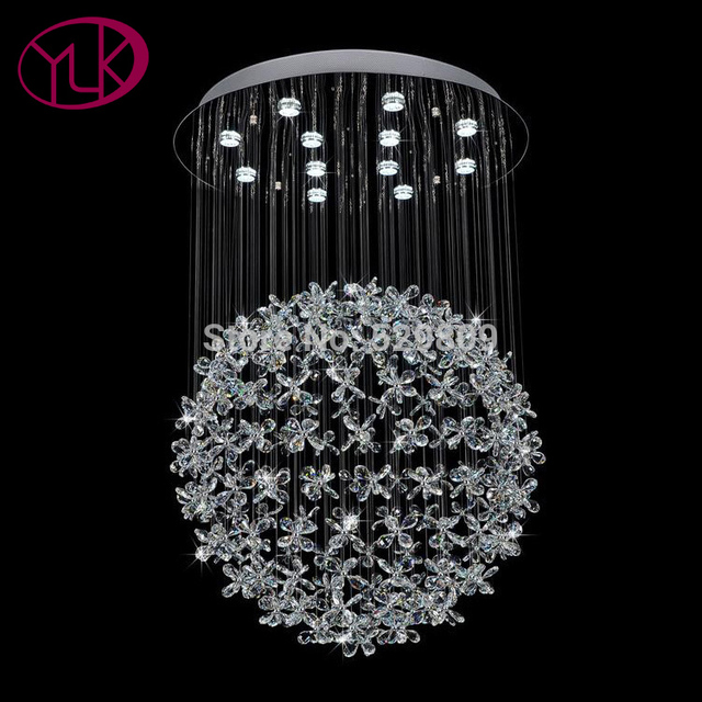 Us 636 65 15 Off Youlaike Luxury Chandelier Lighting For Living Room Large Erfly Crystal Fixtures Home Lamps In Chandeliers