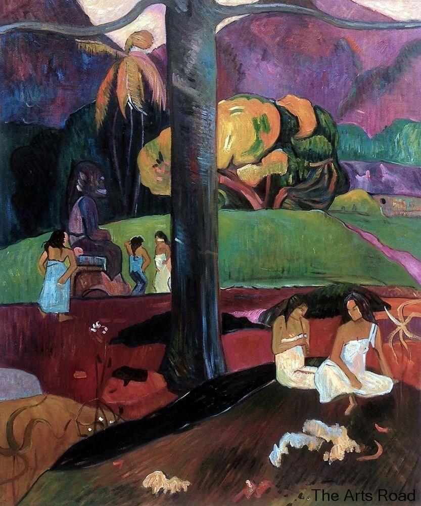 Autrefois Paul Gauguin Poster Mata Mua