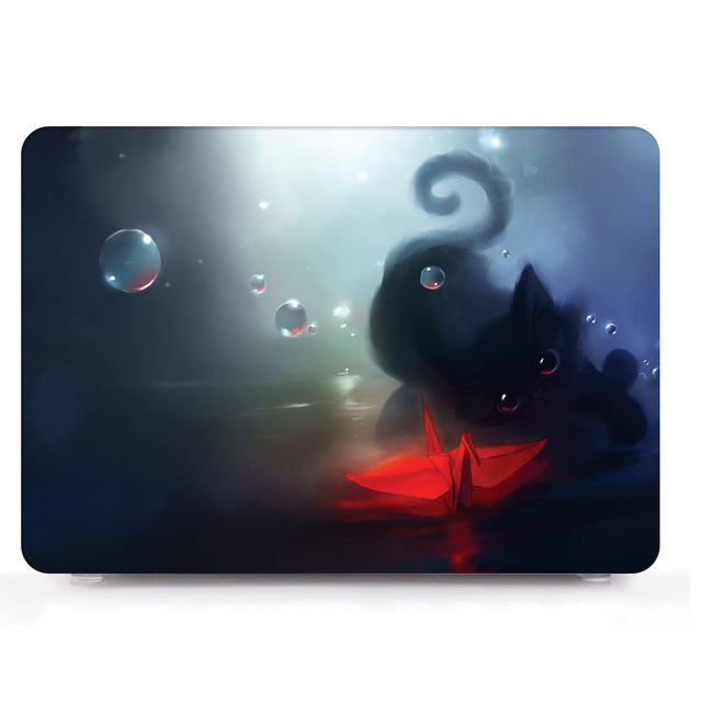 Cute Pattern Hard Shell Case for MacBook 4