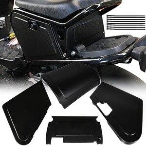 Image 2 - Motorcycle Under Seat Storage Black Body Panels For Honda Ruckus / Zoomer NPS50 Models
