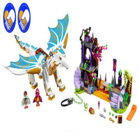 A Toy A Dream Bela Elves 10550 White Dragon The Elf Series Of Long After The Rescue Cction Blocks With 41179 Assembled Block Toy