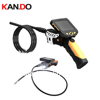 8mm diameter 1 5 meters option video recording endoscope camera 3.5 QVGA LCD Snake inspection Camera Endoscope checking camera