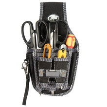 Outdoor Working Tool Bags 9in1 Electricians Waist Pocket Tool Belt Pouch Bag Screwdriver Carry Case Holder Tool Storage Bags