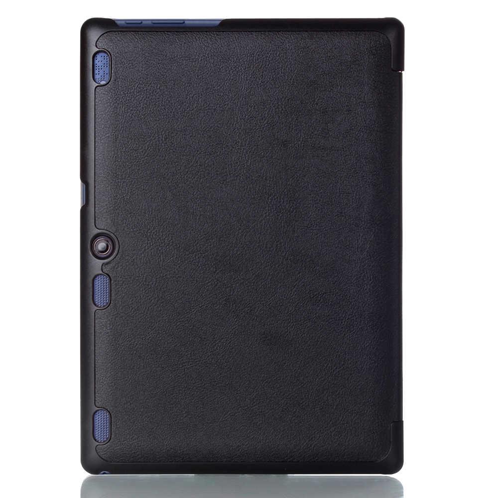 İnce standı kapak kılıf için Lenovo Tab 2 Tab2 A10-70 A10-70F A10-30 X30F sekme 3 10 İş TB3-X70F TAB-X103F
