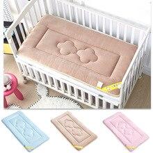 Детское одеяло для кормления из прозрачного бархата; удобный мягкий матрас для новорожденных; простыня для пеленания; многоразовые чехлы