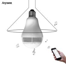 Wireless bluetooth 4.0 light bulb remote control Android ISO phone APP controller for 110v-220V Dimmable LED Bulb speaker lamp