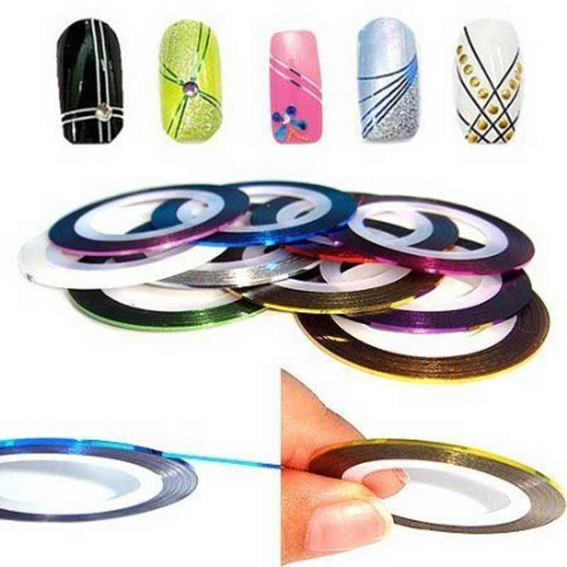 Hot-Sale-20Pcs-Mixed-Colors-Sticker-Nail-Art-DIY-Tips-Decoration-Stickers-Rolls-Striping-Tape-Line (1)