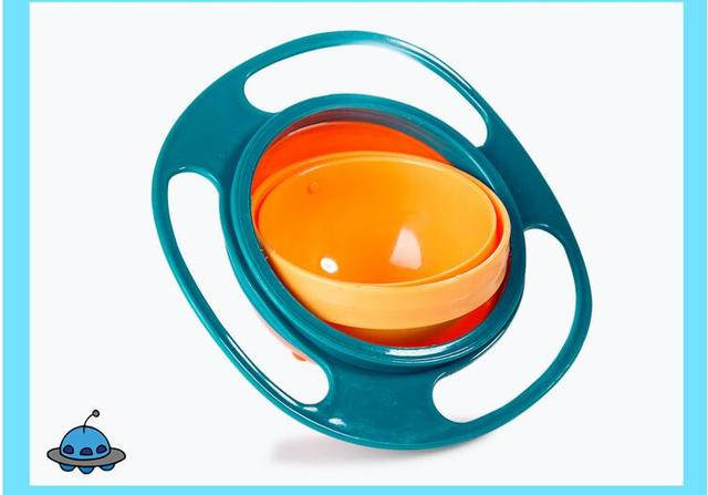 Rotatable Spill-Proof Bowl