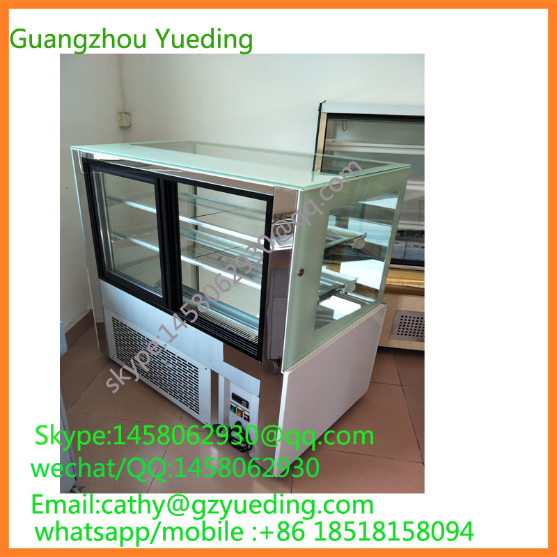 cake freezer display