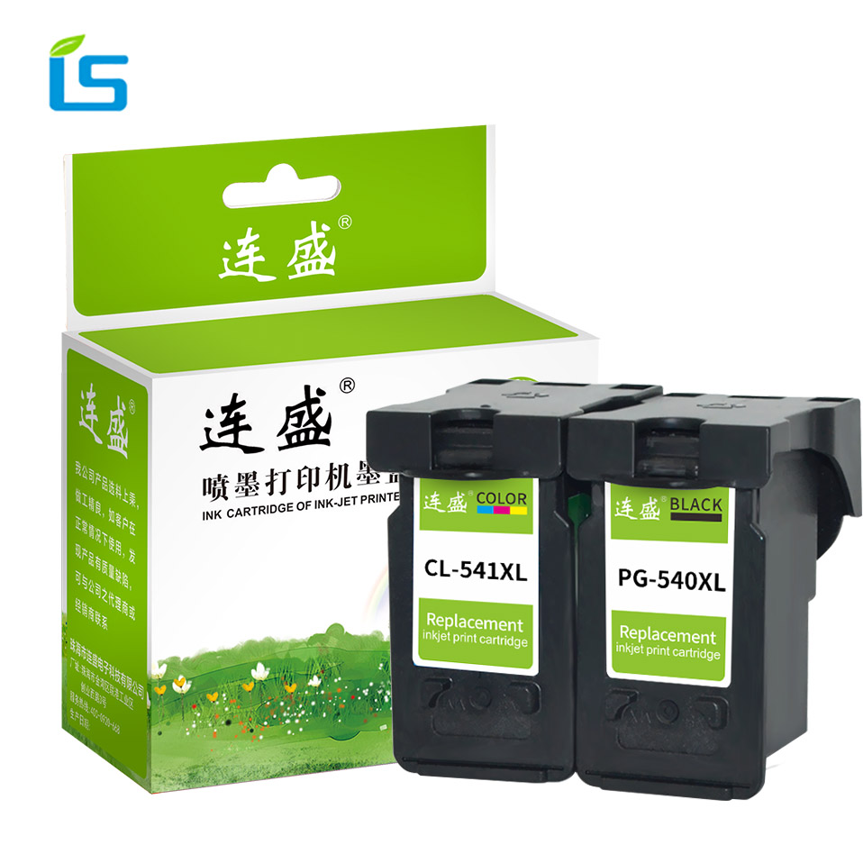 2Pcs PG-540 541XL Refilled Ink Cartridge Replacement For Canon PG540 CL541 For MG2150 MG2250 MG3150 MG3250 MG3550 MG4150 MG4250