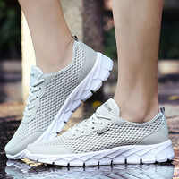Wedges Sneaker Men Summer Air Mesh Causal Shoes Male Large Size 42-48 Light Weight Lace-Up Mans Footwear Hellow Sneakers