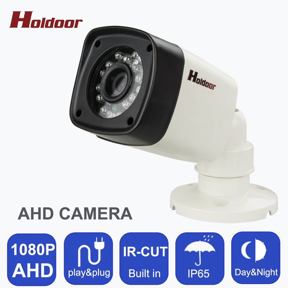 CCTV Camera HD AHD 1080P Camera Plug And Play  Waterproof Bullet Camera CCTV security Indoor Night Vision IR Cut Filter on sale new 2mp hd 1080p ahd security camera cctv white metal mini bullet video surveillance waterproof ir night vision vandal proof