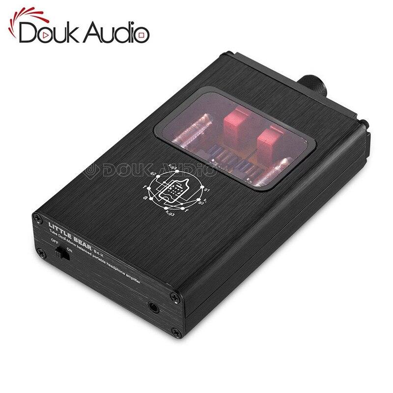 Little Bear B4 X Portable Dual Mono Vacuum Tube Headphone Amplifier Balanced BLK