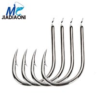 JIADIAONI 7pieces/Lot Barbed Carp Fishing Hook High Carbon Hook Fishhooks Lure Fishing Accessories