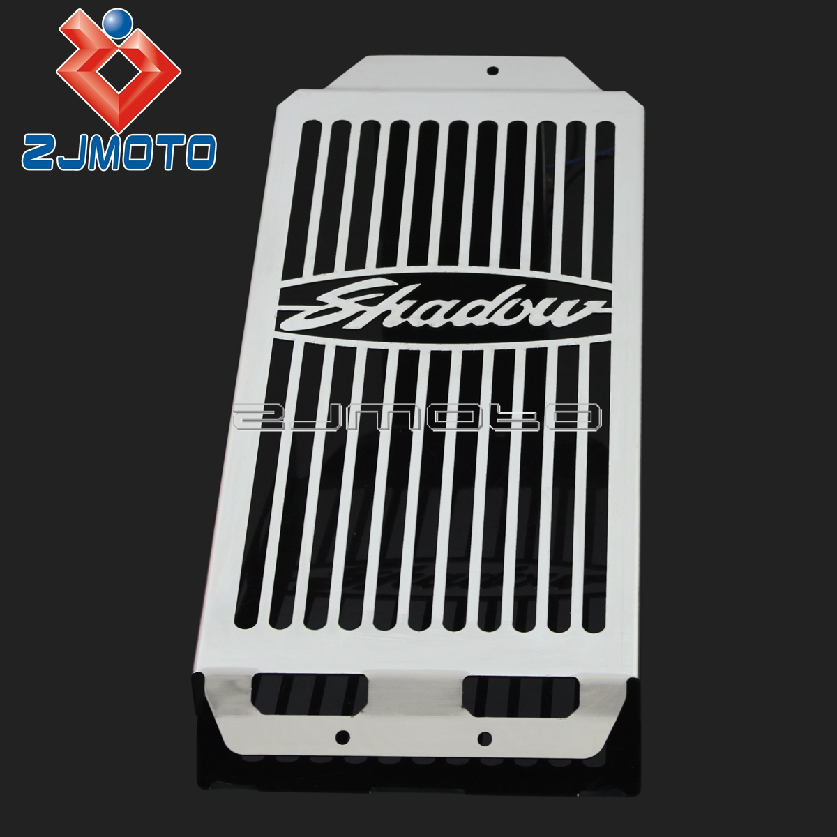 Radiator Grill Cover For Honda Shadow Aero VT400  VT750 2004-2012 Stainless Steel Radiator Grill Guard