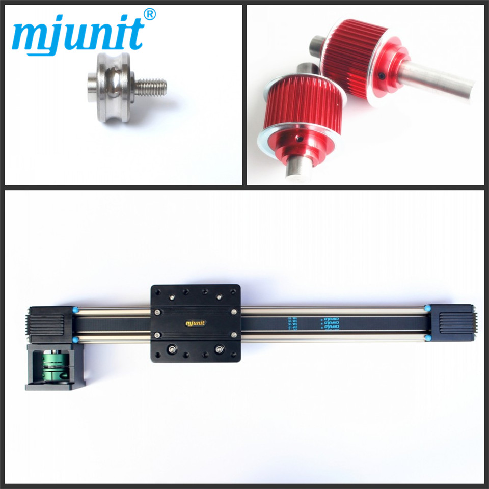 Compact Linear Axis Module WARRANTY /LINEAR BELT DRIVE ACTUATOR WITH MOTOR BRACKET belt driven linear slide rail belt drive guideway professional manufacturer of actuator system axis positioning