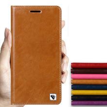 Hot!!! For Sony Xperia M4 High Quality Genuine Leather Luxury Smart Cover Case Flip Stand Mobile Phone Bag