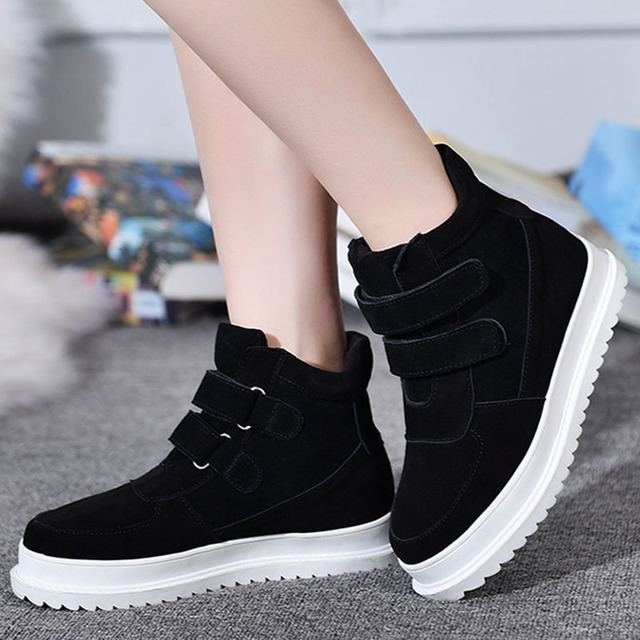 Women shoes Winter Warm Snow shoes Women Casual Shoes Round Toe  Female Fashion