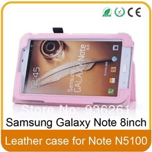 Book Style Folio Case Cover for Samsung Galaxy Note 8 0 N5100 N5110 8 Inch Tablet