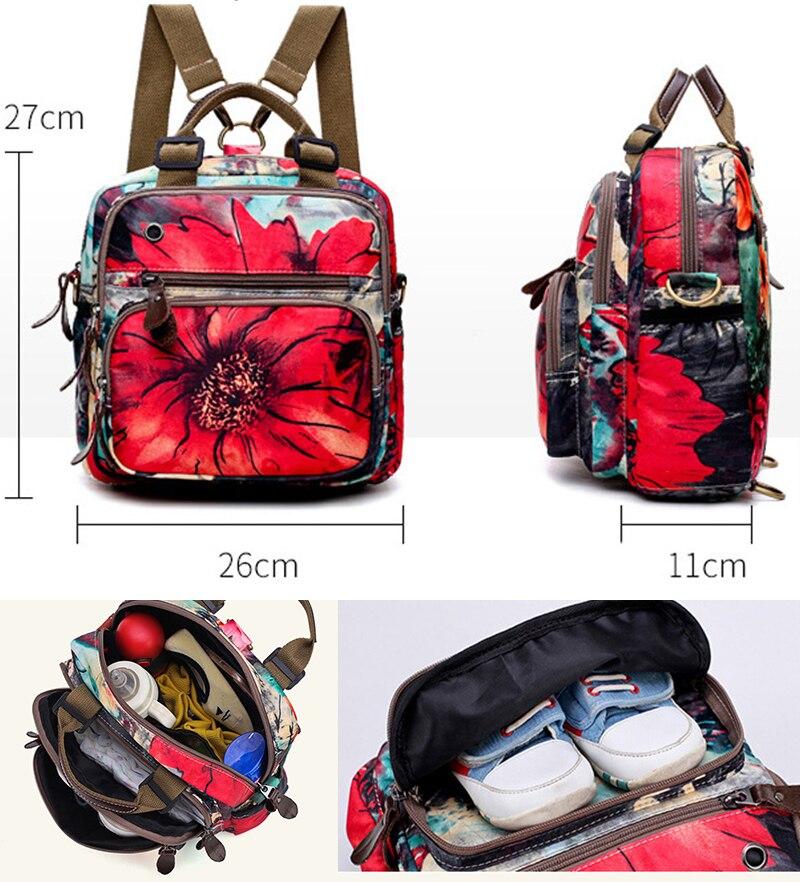 HTB1py78aBWD3KVjSZKPq6yp7FXaN Diaper bag backpack mommy bag Maternity large nappy bag Bolsa Maternida Printed Bebe baby bag Travel Backpack Baby Care wetbag
