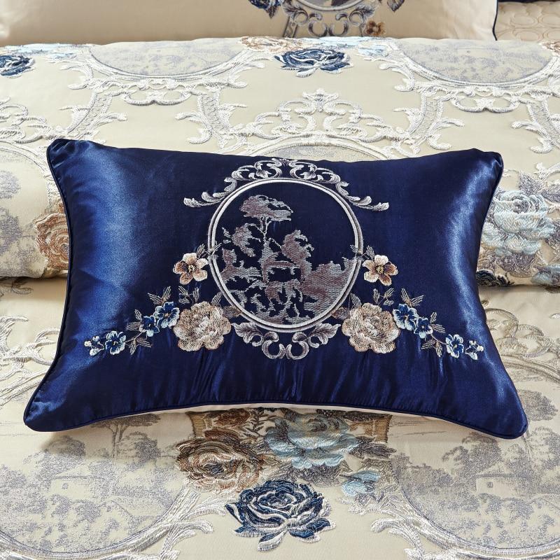 4/6/10Pcs Oriental Jacquard Luxury Bedding Sets King/Queen Size Cotton Bed/Flat sheet set Bed Spread Duvet Cover juego de cama