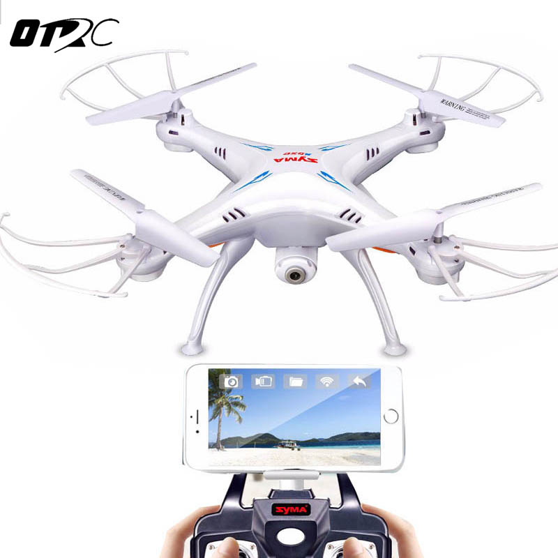 OTRC X5SW Drone with WiFi Camera Real-time Transmit FPV Quadcopter SYMA HD Camera Dron 2.4G 4CH RC Helicopter
