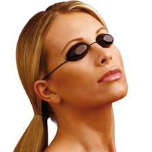 مرنة الأشعة فوق البنفسجية حماية العين في الأماكن المغلقة والهواء الطلق Sunbed دباغة نظارات شاطئ حمامات الشمس نظارات لينة قابل للتعديل
