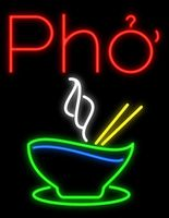 Pho Glass Neon Light Sign Beer Bar