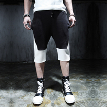 Costume harem pants male slim zipper decoration ruslana korshunova shorts