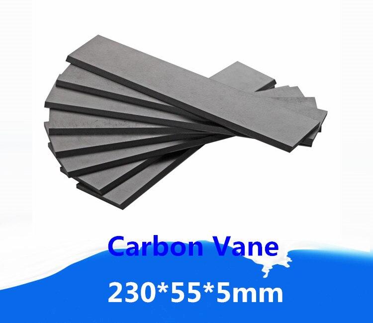 230x55x5mm  Carbon Graphite Vane   for Orion Vacuum Pump   / for Oil-Less Rotary Vane Vacuum Pump