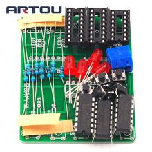 Four Person Responder Diy Kit 4 Channel Answering Teaching Practice Welding PCB Board Fun