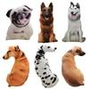 50cm Cute Simulation Dog Plush Toy 3D Printing Stuffed Animal Dog Plush Pillow Stuffed Cartoon Cushion