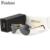 FEISHINI P0761 Padrão Clássico Gradiente UV400 Óculos De Sol Dos Homens Polarizados Condução de Alumínio Designer de Marca de Óculos De Sol Piloto Mulheres 2017