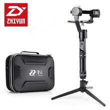 Zhiyun кран-м 3 оси Бесщеточный ручка Gimbal стабилизатор для смартфонов Mirroless DSLR GoPro 125 г-650 г + мини настольный штатив