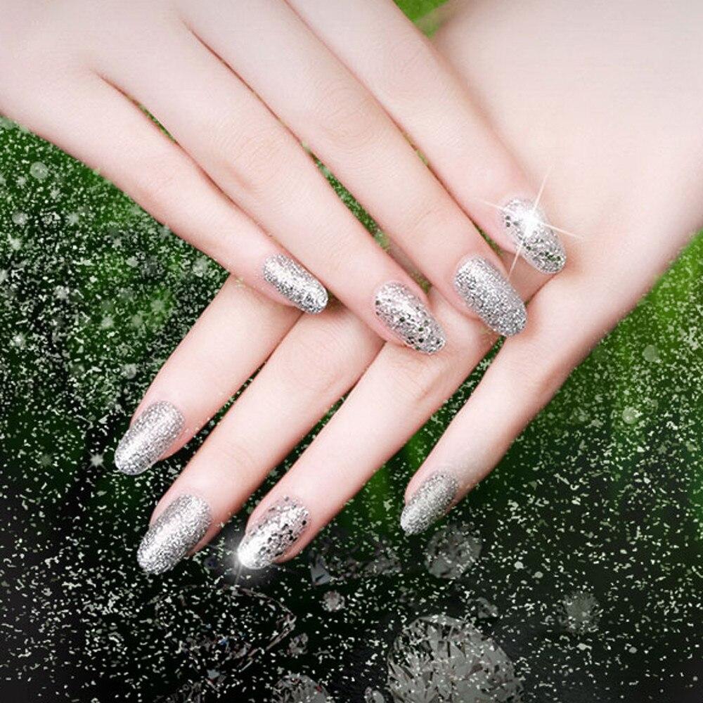New Nail Polish 5ml Diamond Glitter Nail Polish Sequins Nail Good ...
