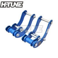 H TUNE 4x4 Accesorios Rear Leaf Spring Extended 2 Height G Shackle Lift Kit Fits NEW D MAX 2012+ / COLORADO 2012+