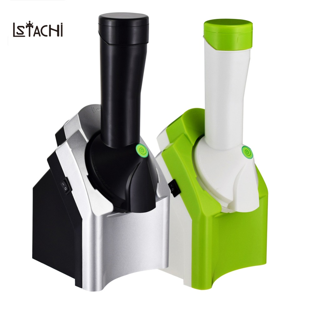 1.5L Electric Automatic Frozen Fruit Ice Cream Machine Kitchen Tools 220-240V ice cream maker Child DIY Household Ice Machine free shiping fried ice cream machine 75 35cm big pan with 5 buckets fried ice machine r22 ice pan machine ice cream machine