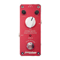 AROMA AOD 3 Overdrive Distortion MINI Guitar Effect Pedal Gain Tone and Level adjustable Guitarra Analogue True Bypass Design
