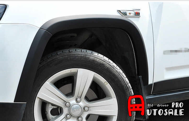Quality For Jeep Compass 2011 2015 Black Fender Flares Wheel Arch Body Door Extension Kits 10pcs Compass Compass Jeepcompass Kit Aliexpress