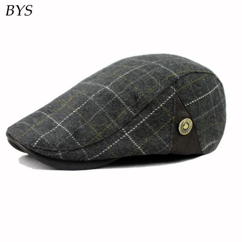 2016 Men British Driving Caps New Soft Cotton Newsboy Flat Cap Ivy Stretch Driver  Hat Women s Vintage Cap Adjustable-in Newsboy Caps from Apparel ... ec80fe6d80