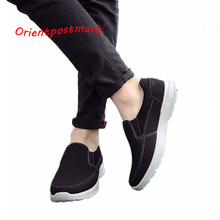 OrientPostMark Spring New Fashion Breathable Canvas Mens Shoes Flats Autumn Quality Casual Light Comfortable