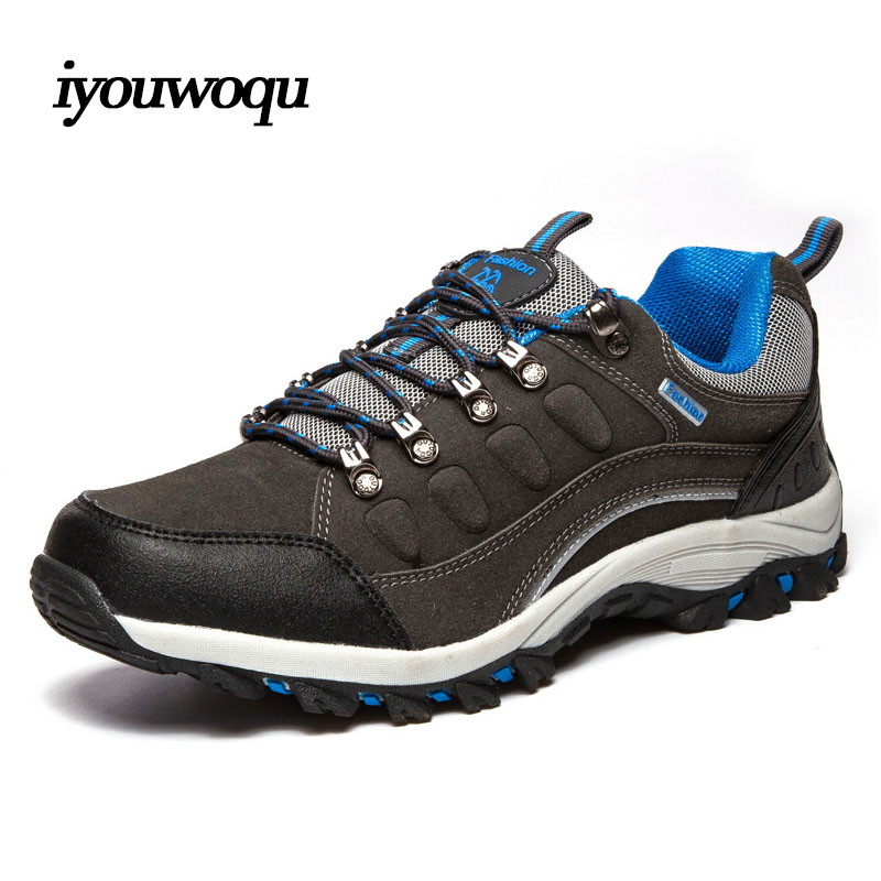 ФОТО 2016 New Arrivals Women&Men Waterproof Breathable Sports Shoes Slip Resistant Outdoor Hiking shoes Trekking Climbing Shoes 1515