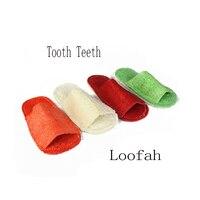 Plant Loofah Durable Dog Molar Footwear Resistant Bite Health Training Flip Flop Acessoires Jeu Uolors Fun